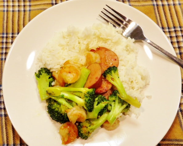 Get this delicious Shrimp and Broccoli dinner on the table in less than 25 minutes