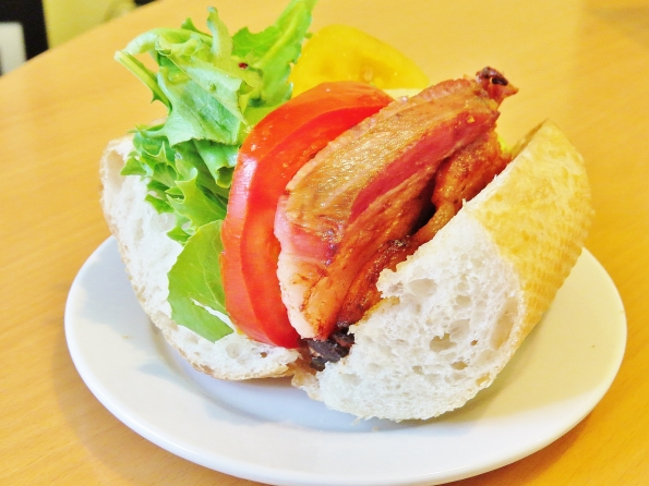 BLT with two kinds of tomatoes because one is not enough