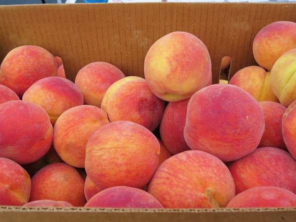 And of course sweet Georgia peaches
