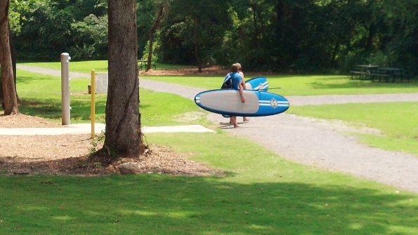 Standing paddle board