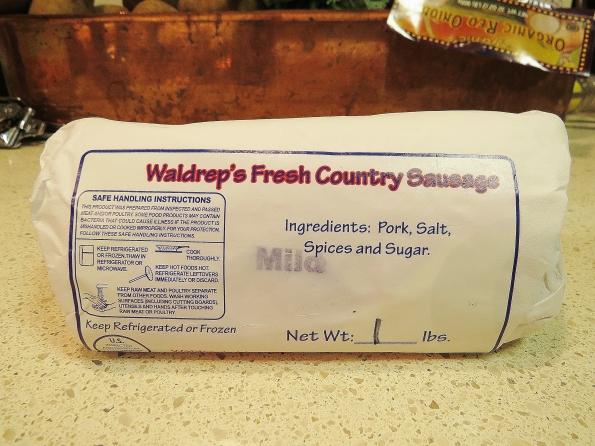 Waldrep's fresh country sausage
