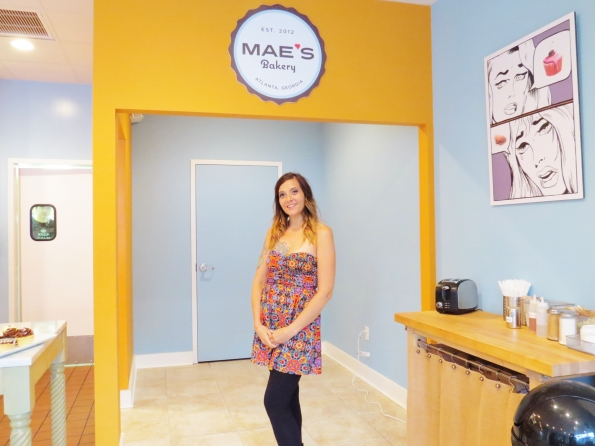 Beth Castro owner of Mae's Bakery