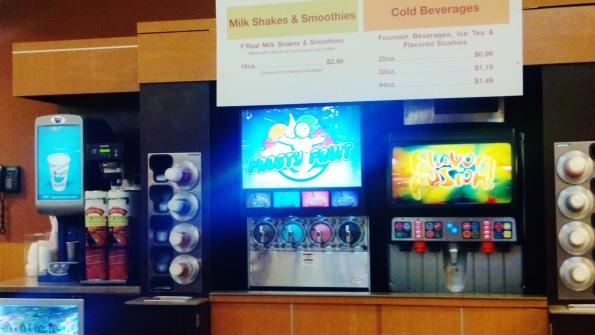 soft drinks, beverage center, Kroger, grocery store