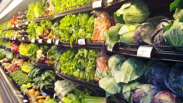 produce, salad, Kroger, grocery store, grocery shopping