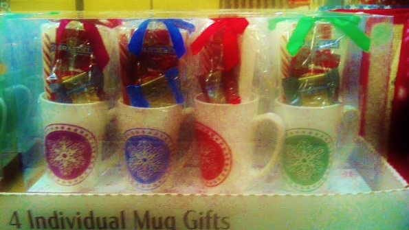 This multi pack of gift mugs filled with delicious, high quality chocolates makes gift giving easy.  Break up the set and give these filled mugs to a co worker, neighbor, teacher or cousin