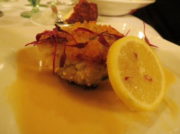 Callaway Garden, The Garden Restaurant at Callaway gardens, crab cake, appetizer