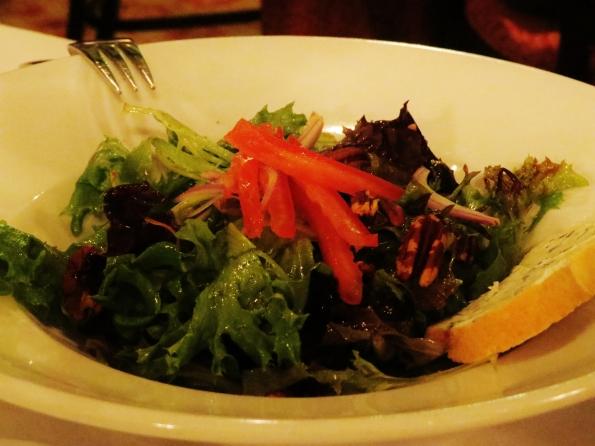 garden salad, The Gardens Restautant, Callaway Gardens
