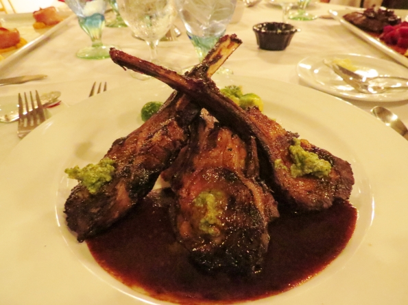 Lamb chops, The Gardens Restaurant, Callaway Gardens