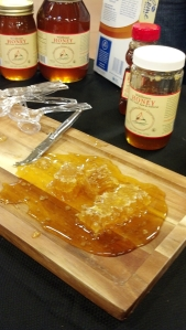 Kroger features local products like this raw honey from Blue Ridge Honey Company