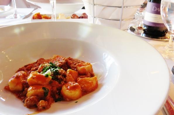 Gnocchi Carbonara, Davio's