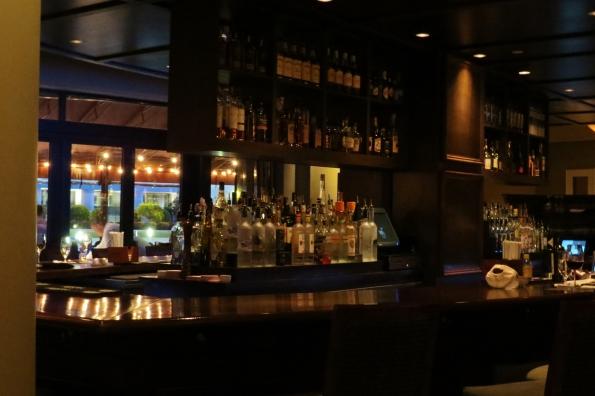 The bar at Davio's