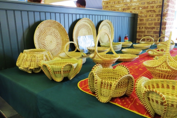 Sweet Grass baskets