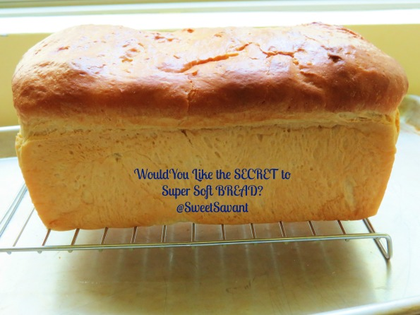 A finished loaf of bread.  This recipe makes 3 loaves so you have some to share or freeze for later use. Let the loaf cool on a rack so the bottom doesn't get soggy.
