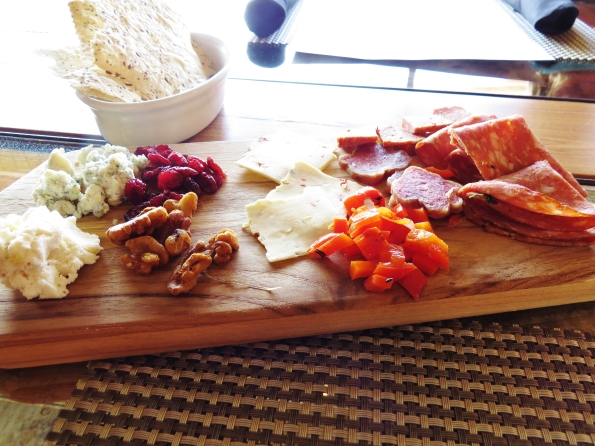 Charcuterie at Zeal. Meats from Heywoods Provisions