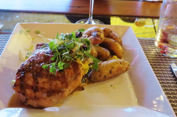 Zeal's grilled pork chop, very juicy but a tad bland