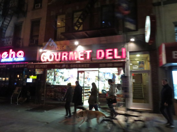 Gourmet delis in Manhattan