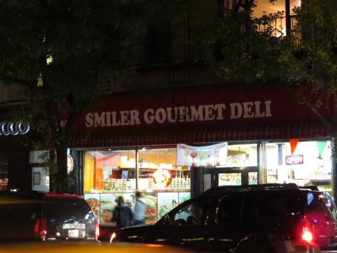 I bet you'll get a nice smile at SMILER Gourmet Deli (yeah that was corny)