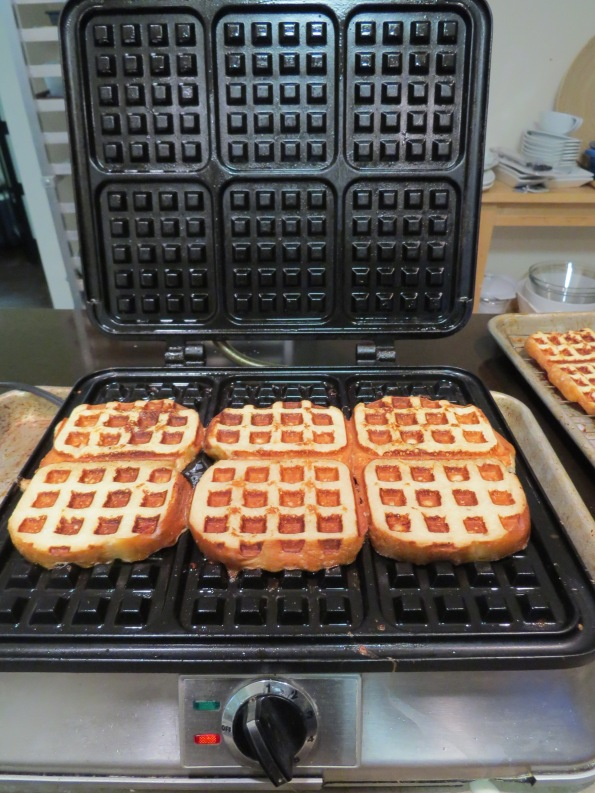 French Toast in the Waffle iron