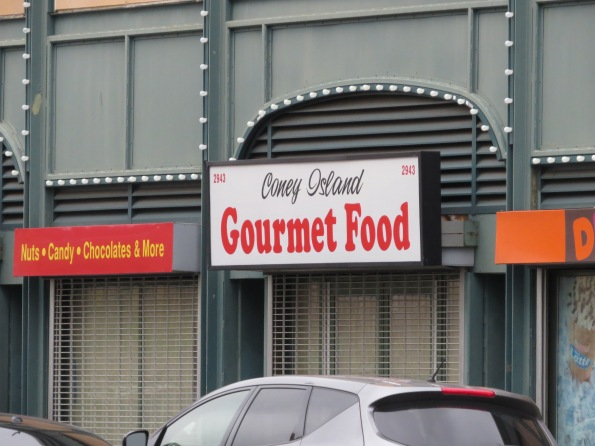 Gourmet on Coney Island in Brooklyn